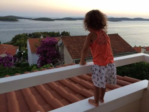 pequena na viagem croacia, viagem dos sonhos casa em Hvar