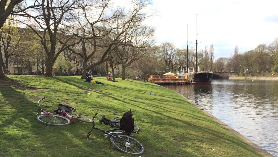 parque Landwerkanal em berlin
