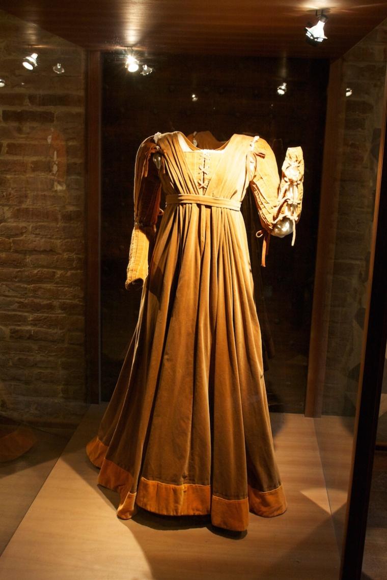 vestido Julieta casa Verona